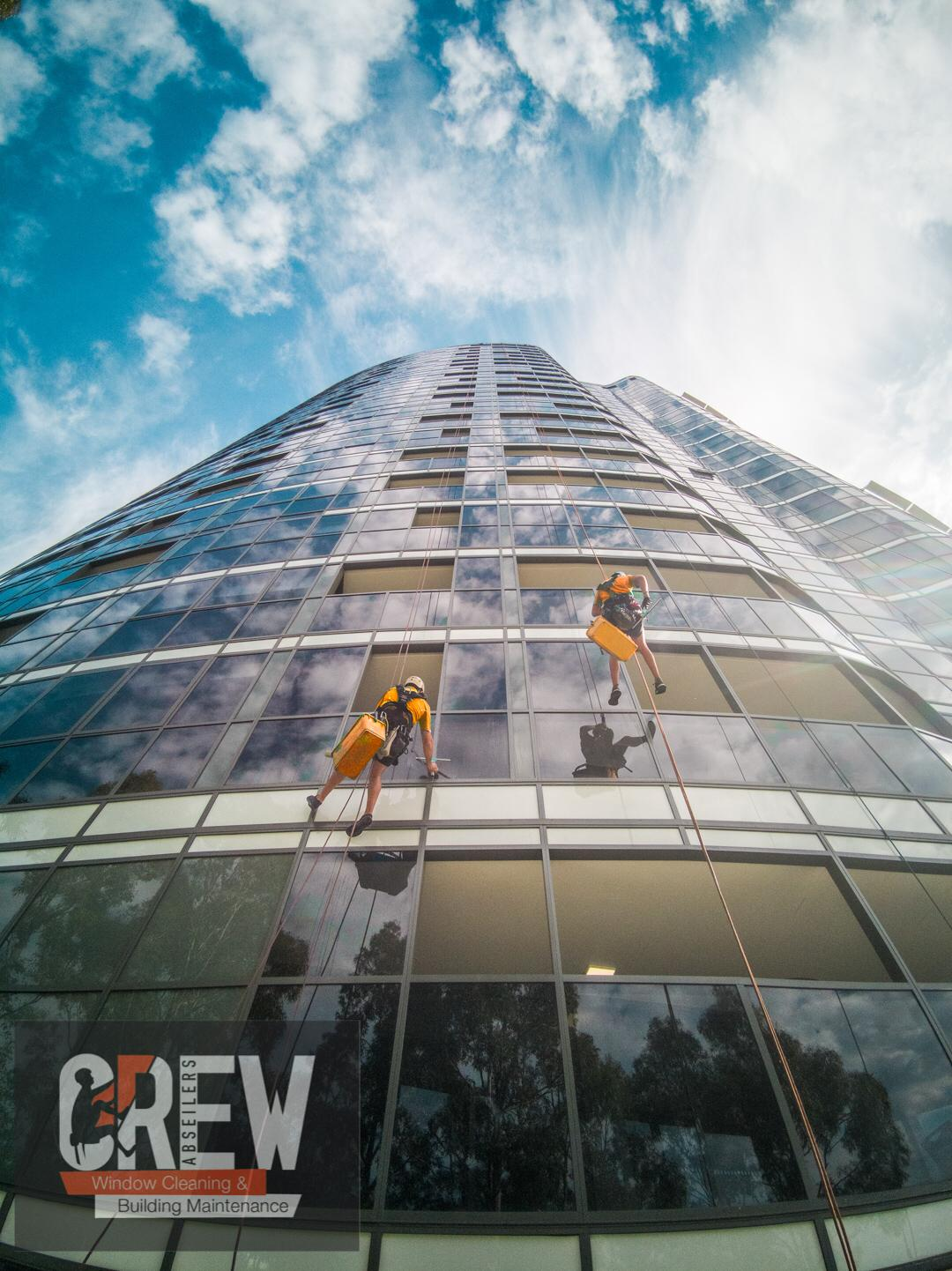 Abseiling Window Cleaning Melbourne